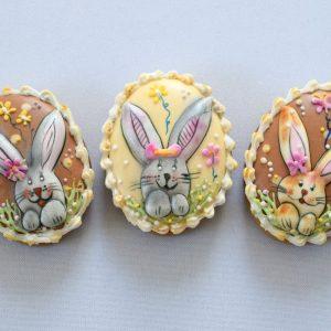 Nyuszifejes húsvéti tojások